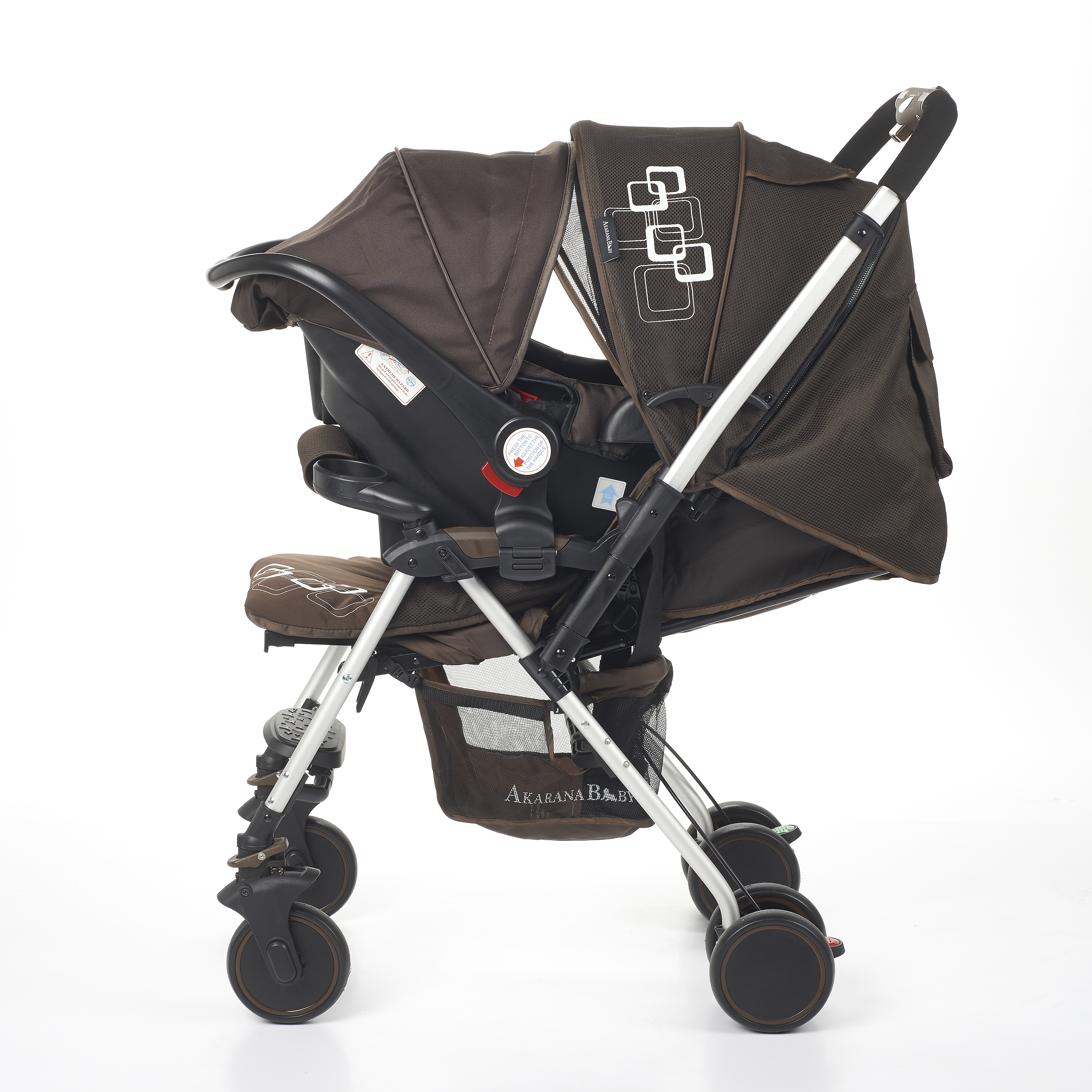 The Kaui Infant Car Seat Carrier Q01 Can Be Fitted To Weka